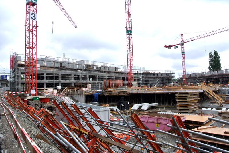 Zwicky Süd Baustellenreport (2)