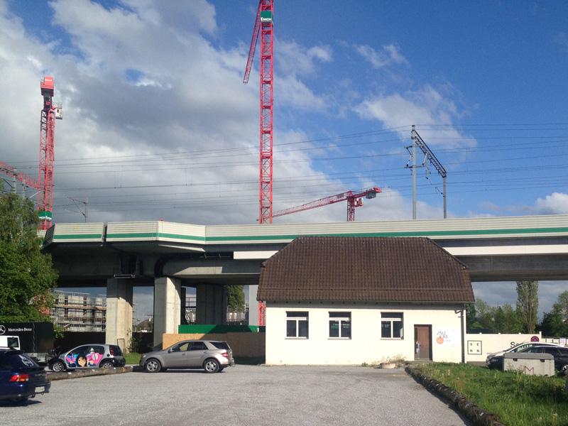 Filterhaus 296 Zwicky Süd: Veranstaltungsraum, Projektdokustelle, Treffpunkt